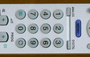 Nadomestni daljinc, ustrezna menjava za večino starejših Sony CRT aparatov